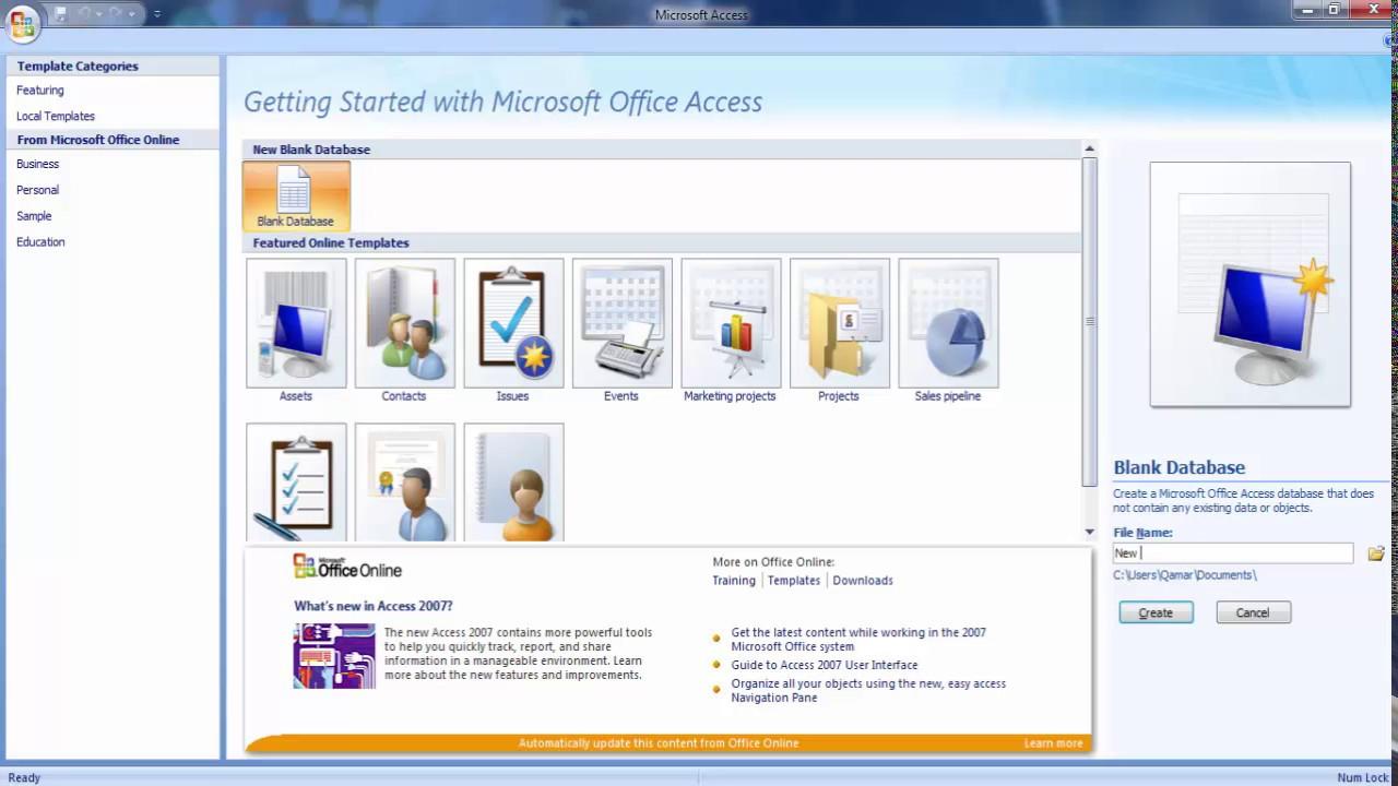 Cheap price microsoft office access 2007