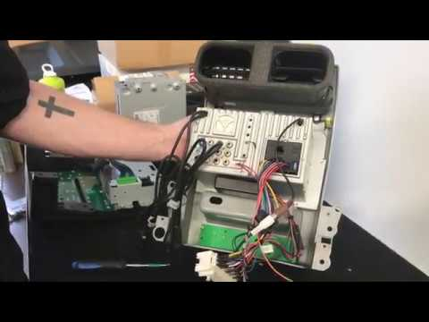 ba xr6 icc wiring diagram atx motherboard with labels diy how to install ford falcon bf android replacement youtube