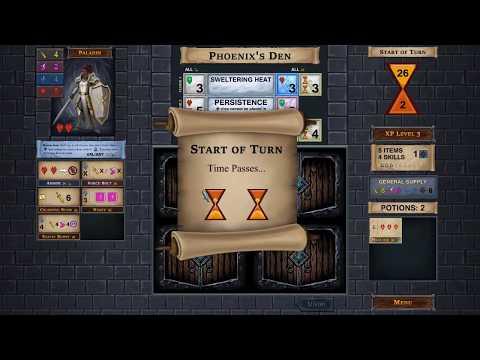 Pineleaf Plays One Deck Dungeon Game 2 Part 2: Paladin vs Phoenix |
