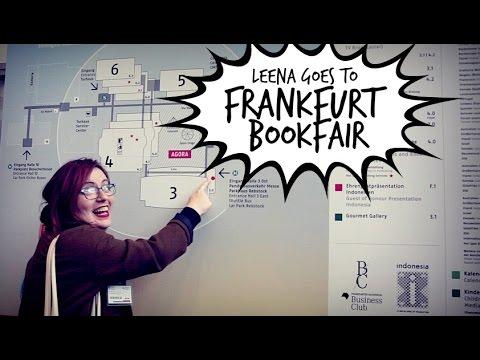 TRAVEL VLOG: Leena goes to FRANKFURT BOOK FAIR - Behind The Book | #BookBreak