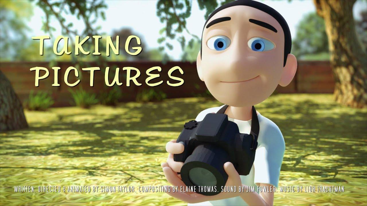 Cualquier instante es bueno para ganar un amigo o amiga. Taking Pictures (Animated Short Film) by Simon Taylor