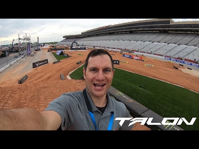 Weege Show: Facts and Info on the Massive Atlanta Motor Speedway Supercross Track
