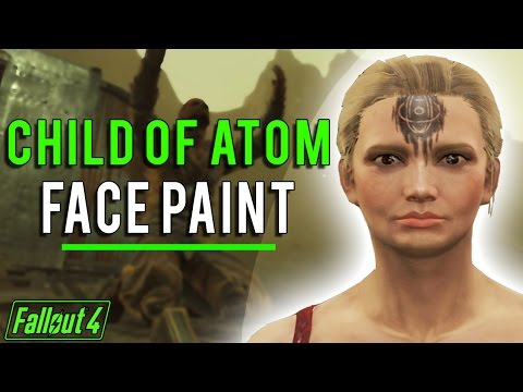 Fallout 4 - How to Use Child of Atom Face Paint!