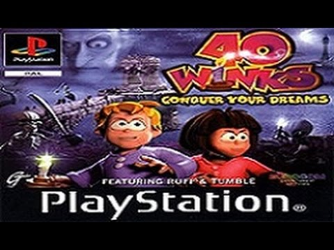 40 Winks - Full Walkthrough (PS1)