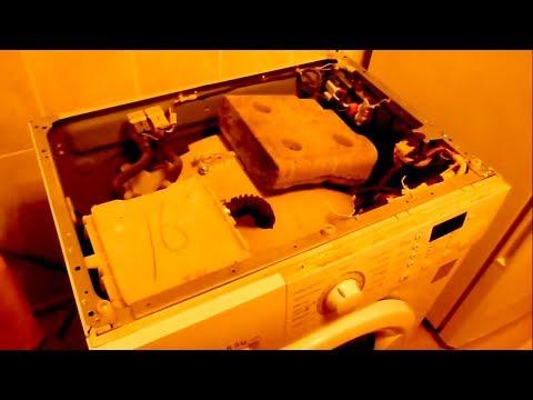 Как открыть крышку в стиральной машине