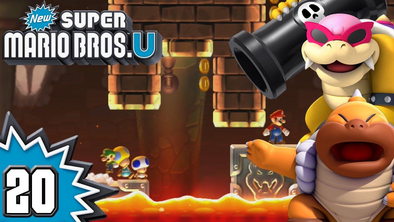 New Super Mario Bros  U - Episode 20