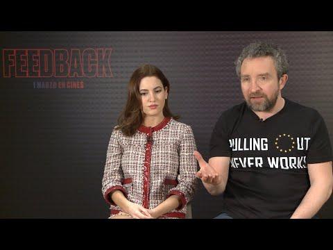 Ivana Baquero y Eddie Marsan presentan 'Feedback'