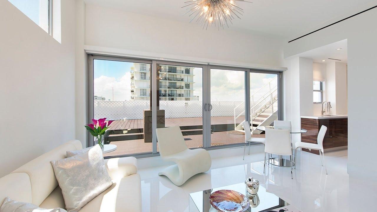 2bath Penthouse | Shelborne Hotel |Miami Beach | Chic Vacation - YouTube