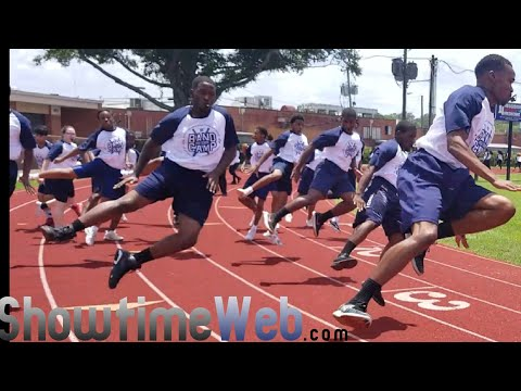"""""""Get Ready"""" Marching In - Jackson State Band Camp 2018"""