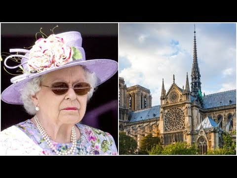 Sad News, Queen Elizabeth II Made Heartbreaking Confession About Notre-Dame Fire.