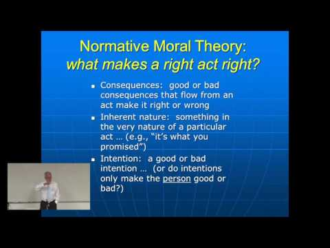 Introductory Lectures on Bioethics: Lecture 1 - Foundations of Bioethics