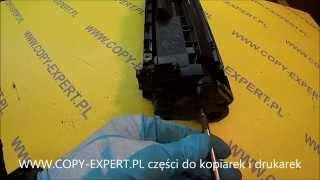 How to refill HP Q2612A & Canon FX-10 toner cartridge regeneracja HP 12A 1010 1012 1015 1018 1020