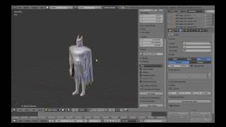 [Tutorial 01] Batman in Blender: (Modeling) Setting Up Reference Planes