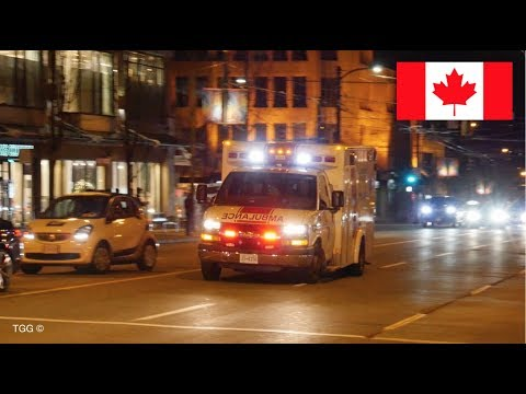 *NEW SIREN* Ambulance Responding Code 3 In [Vancouver]