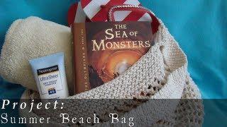 Summer Beach Bag  |  Project  |  Knit  |  Kitchener Stitch