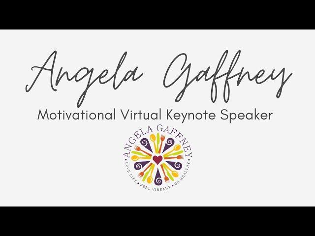 Angela Gaffney Virtual Keynote Speaker