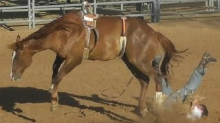 Ranch Broncs - 2018 Will Rogers Range Riders Rodeo - Thursday