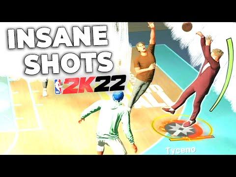 I've been making INSANE SHOTS in NBA 2K22...