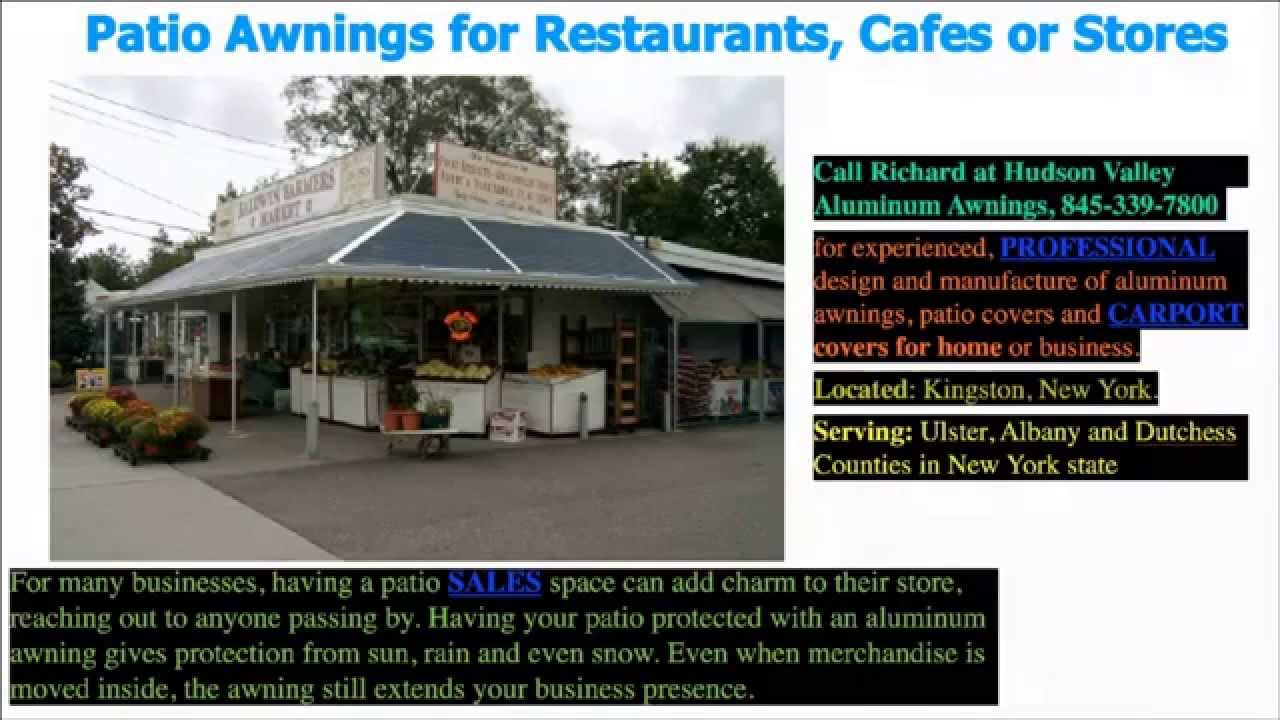 Hudson Valley Aluminum Awnings | (845) 339-7800 |