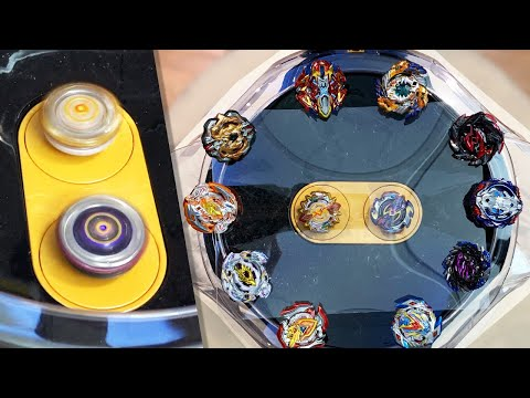 INVINCIBLE BEYBLADE CHALLENGE! - ALL Beyblade Burst Super Z Beys VS Infinite Artemis/Apollos