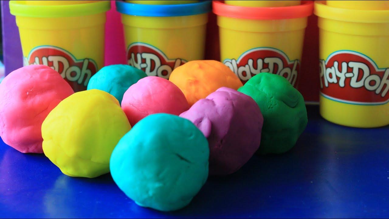 Squishy Ball Play Doh : Play Doh Princess Disney Cars 2 Play Dough BALLS batmen bear teady - YouTube