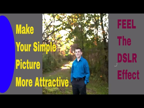How To Make DSLR Camera Effect In Adobe Photoshop-Computer Tips & Tricks