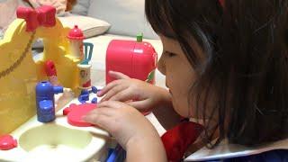 レミン&ソラン しらゆきひめ キッチンのおもちゃでお料理ごっこ!Remin & Solan Snow White Kitchen Toys Pretend Cooking