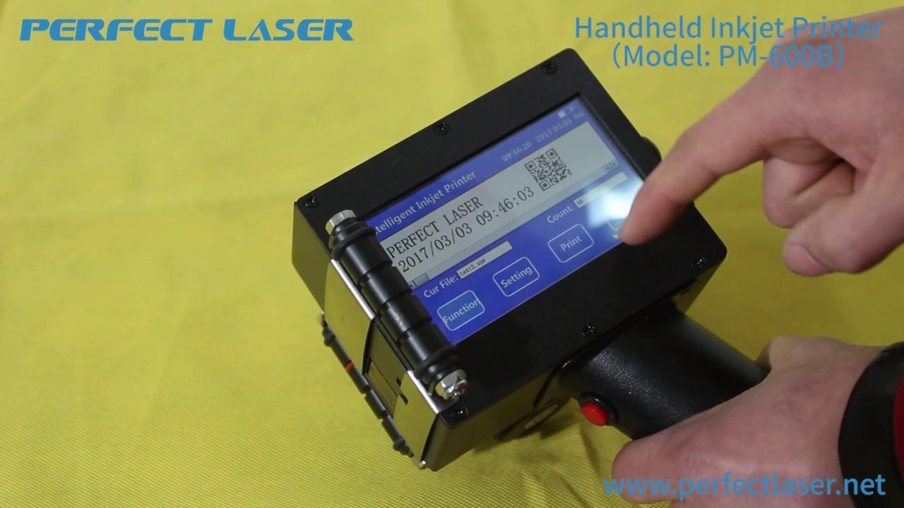 e79536f673e1 Portable Handheld Inkjet Printer Code Printing Machine