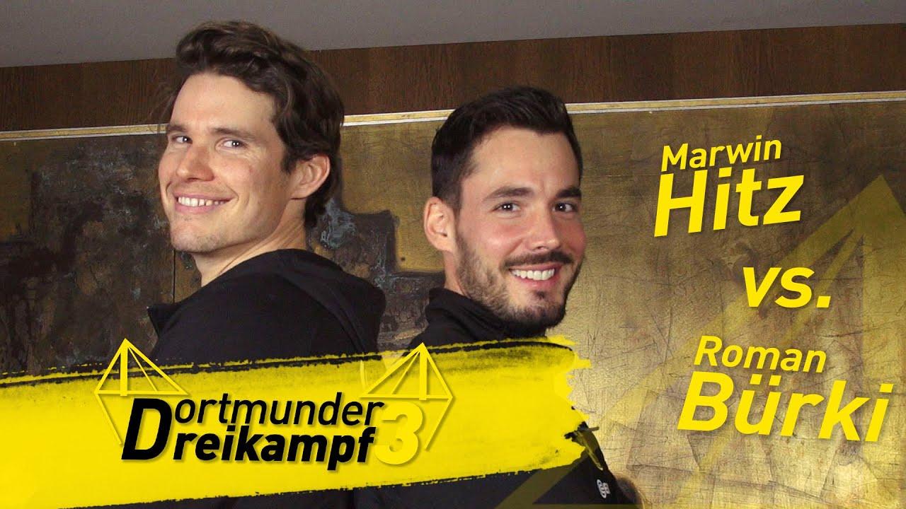 "Roman Bürki vs. Marwin Hitz   ""Dortmunder Dreikampf"" aus ""Spitz, pass auf!"", ""Klackern"" und ""Jenga"""