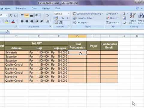 Tutorial excel microsoft vlookup pdf