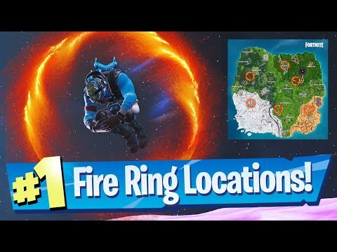 Launch Through Flaming Hoops With A Cannon Locations - Fortnite Season 8 Week 10 Challenge Guide