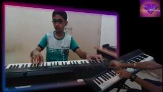 dost dost na raha-SANGAM-on keyboard