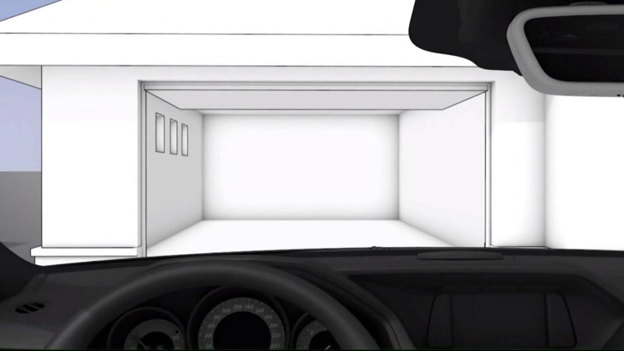 система открывания ворот гаража мерседес мл320