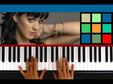 How To Play The One That Got Away Piano Tutorial Katy Perry