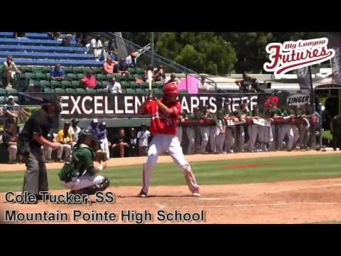 COLE TUCKER PROSPECT VIDEO, SS, MOUNTAIN POINTE HIGH SCHOOL @BIGLEAGUEFUTURE @ACBASEBALLGAMES