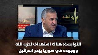 النوايسة: هناك استهداف لحزب الله ووجوده في سوريا يزعج اسرائيل