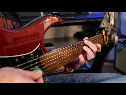 The Ridiculous Sound of a Fretless Guitar