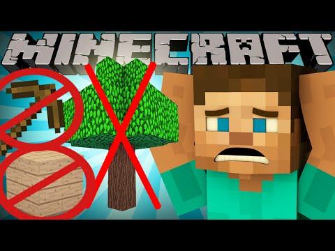 If Wood was Rare - Minecraft
