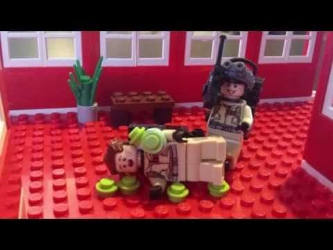 """Lego Ghostbusters """"He slimed me"""" scene"""