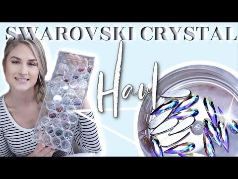 SWAROVSKI CRYSTAL HAUL - MUST HAVE COLORS, SIZES & GLUE...