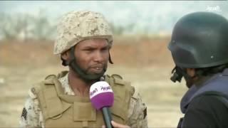#العربية تستعرض المدفعية #السعودية على الحدود اليمنية