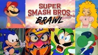 Super Smash Bros. Brawl | The Animated Intro
