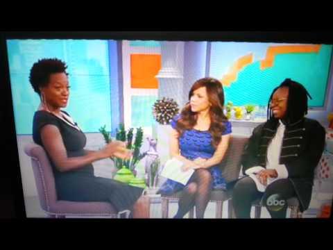 Viola Davis on The View 25.09.2014