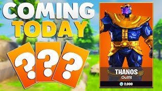 NEW MARVEL AVENGERS INFINITY WAR SKINS | Fortnite: Battle Royale