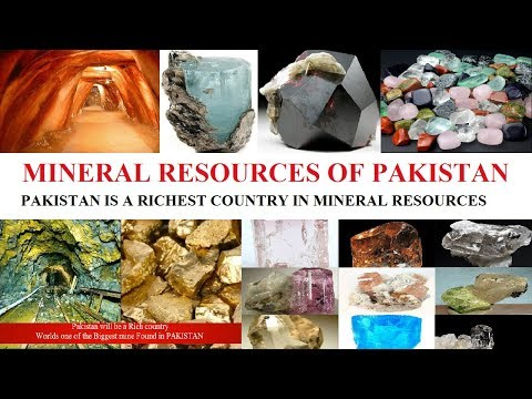 Minerals Resources of Pakistan and their uses|Pakistan is a richest country in natural resources