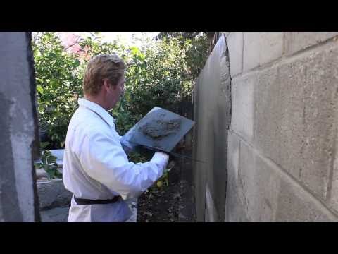 Why stucco or plaster fails over cinder blocks or concrete for Concrete block stucco