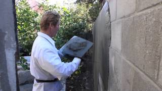 Stucco thickness on Cinder block or CMU walls