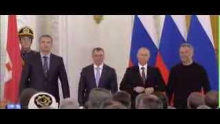Крым и Россия подписали договор █ Crimea became Part of Russia (Putin, treaty signing, Путин)