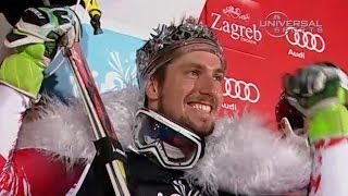 Marcel Hirscher wins 3rd Zagreb Slalom - Universal Sports