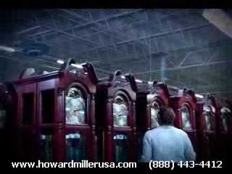 Howard Miller Company factory tour
